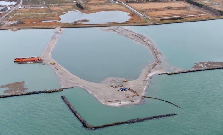 Kæmpe sandkasse indrammer arbejdet på landets største anlægsprojekt