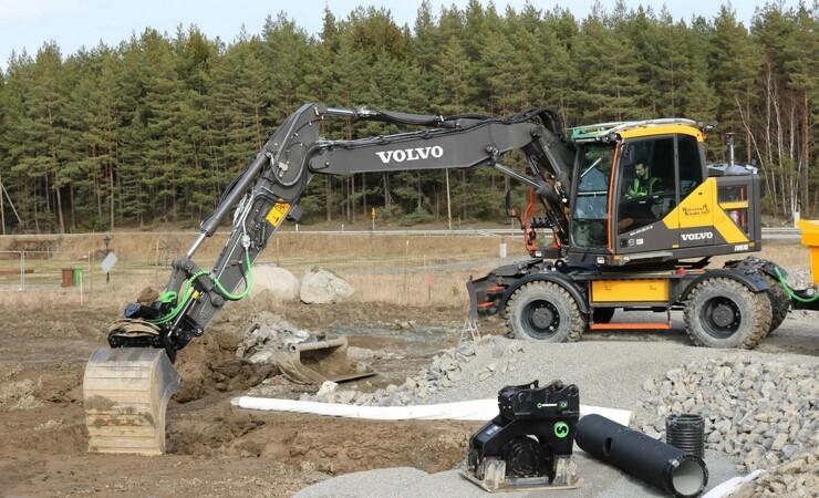 Steelwrist og Volvo CE udvider samarbejdet