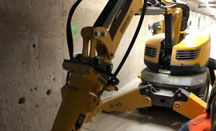 Robotten tager den trælse tjans