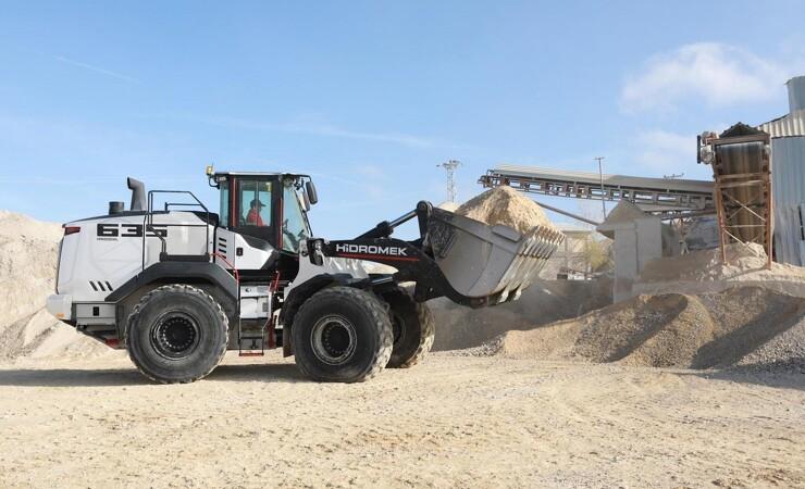Hidromek udvider med 20 ton hjullæsser