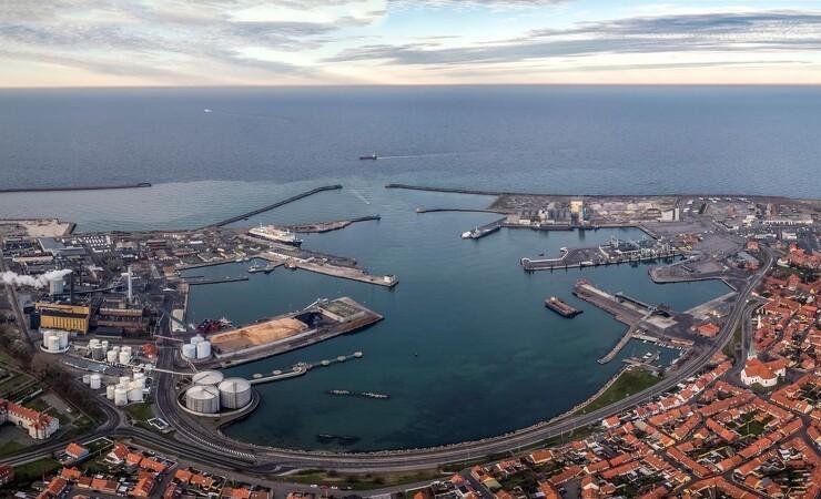 MT Højgaard skal udbygge Rønne havn for 300 millioner kroner