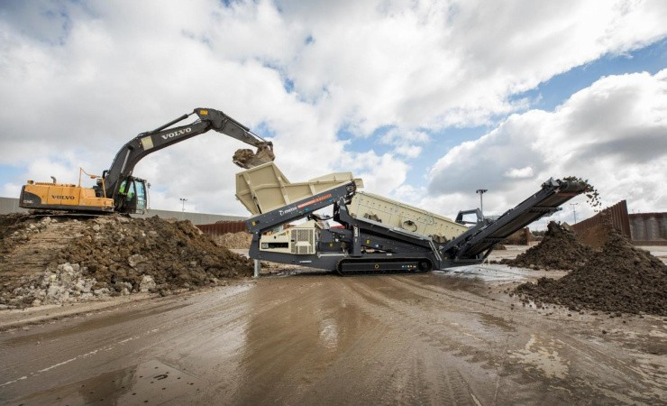 Ny type sorteringsanlæg til genanvendelsesindustrien