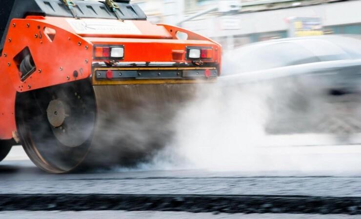 Klimavenlig asfalt på Fynske Motorvej