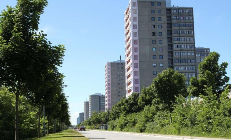 RGS Nordic håndterer beton fra Brøndby-højhuse