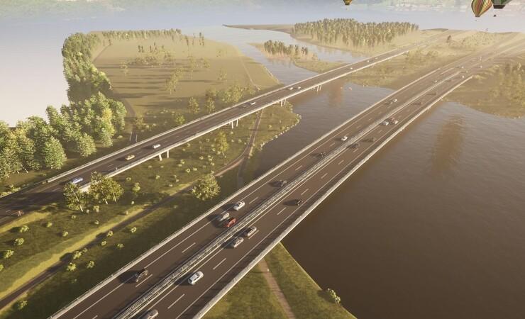 Ny ringvejsbro over Gudenåen skal give bedre plads til dyre- og planteliv