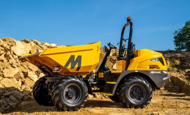 Mecalac opgraderer to MDX-dumpere