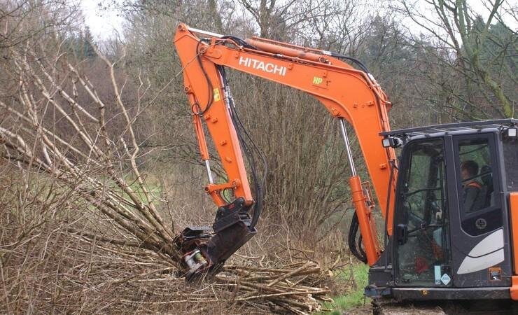 Skovmand har droppet skovmaskinerne