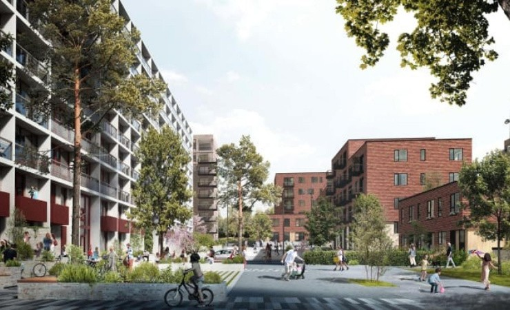 PKA investerer 350 millioner i Gellerup-projekt