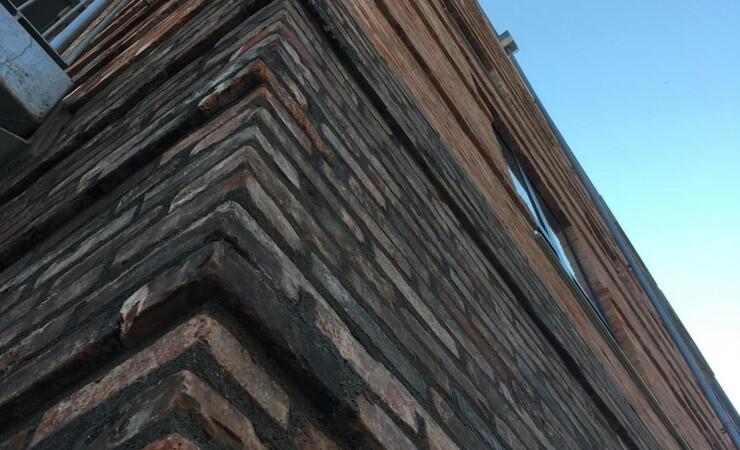 Klar til genbrugte mursten med CE-mærkning
