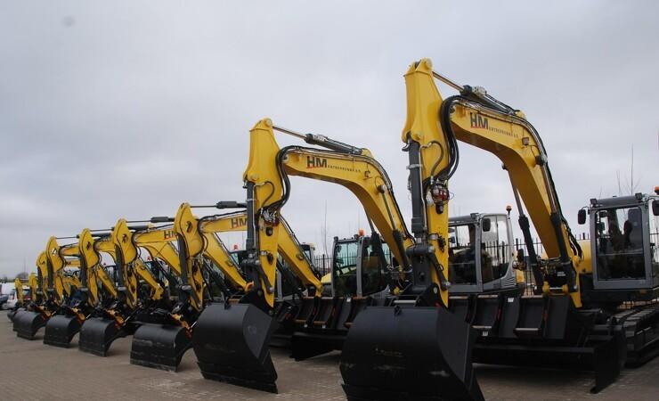 64 Wacker Neuson-maskiner får nyt hjem