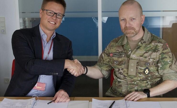 Hydrema vinder kontrakt hos Forsvaret