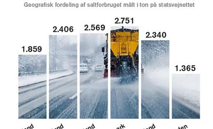 Sibirisk vinter skabte travlhed for vintertjeneste