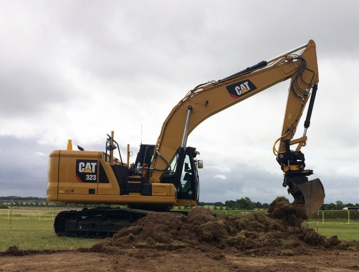 En enkelt rendegraver er blevet til 40 maskiner