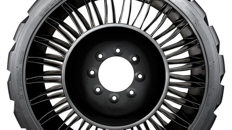 Michelin lancerer luftløst radialhjul