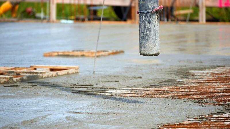 Prisen stiger på beton og jern