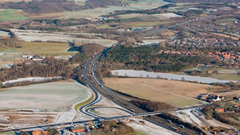 Motorvej færdig på rekordtid