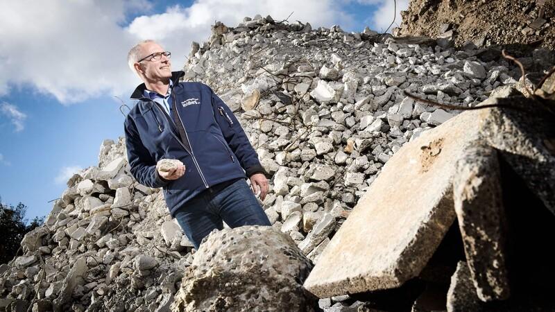 Hvidberg får støtte til bedre genanvendelse af byggeaffald