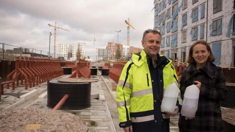Ny dansk renseteknik skal klimasikre Ørestaden