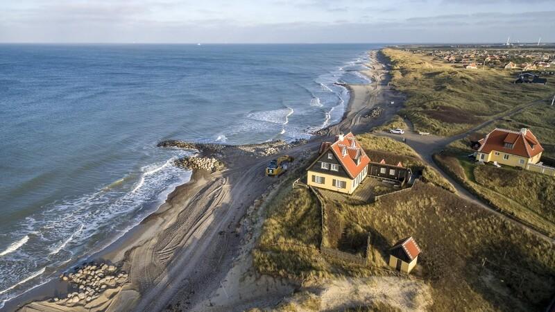 Ny kystsikring redder historisk villa