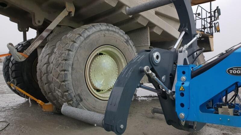 Dansk firma løfter mineindustriens tunge dæk