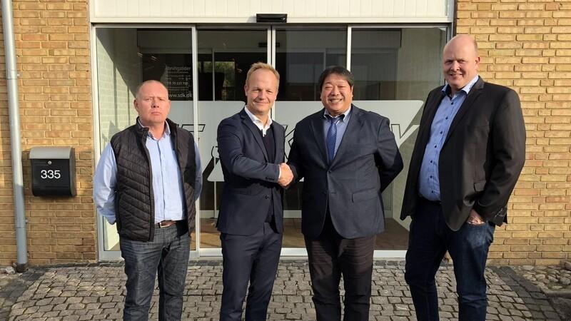 Mikasa indtager Danmark med SDK