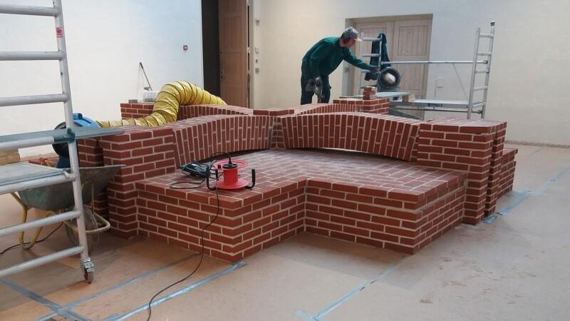 Kunstneriske mursten skal bringe Kingo tilbage til rødderne