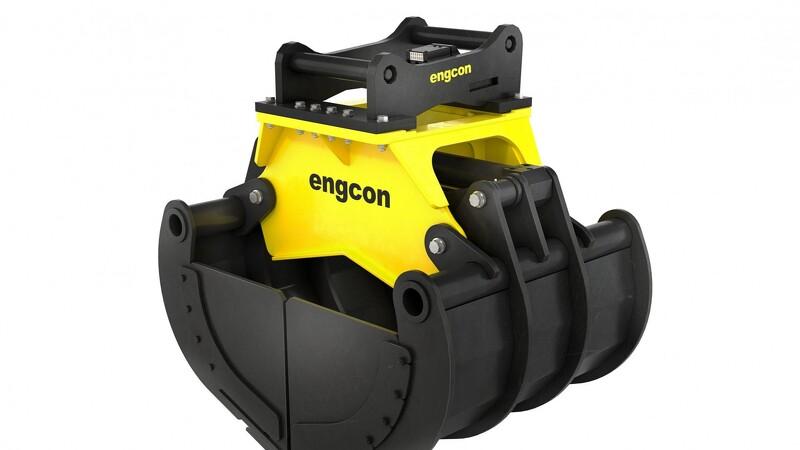 Engcon opgraderer sine sortergrabber