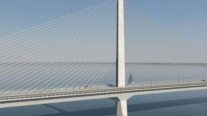 Svindeldømte portugisere skal bygge på Storstrømmen