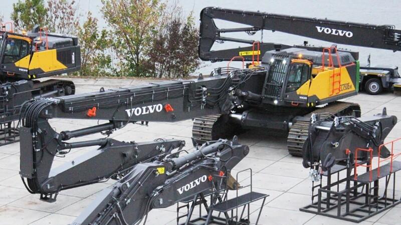 Belgier køber Volvos største gravemaskine