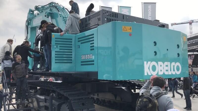 Kobelco tilføjer gigantmaskine til europæisk sortiment