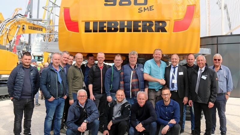 Jysk entreprenør tog små 400 ton med hjem fra Bauma
