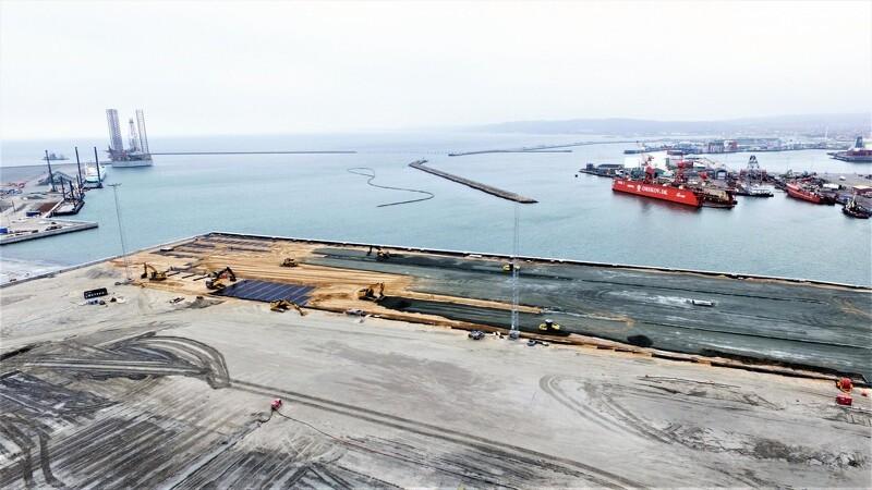 Kæmpe havneudvidelse baner vejen for bæredygtighed