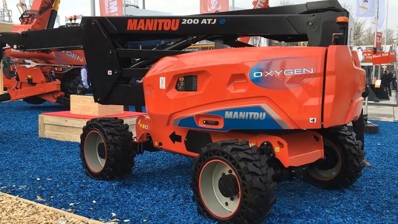 Manitou følger trenden og gør bomlift elektrisk