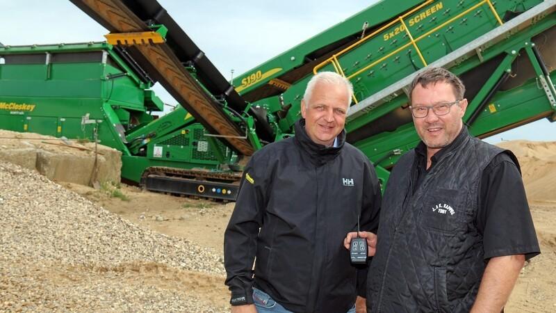 Thy-entreprenør klar til ny grusgrav med ny sorterer