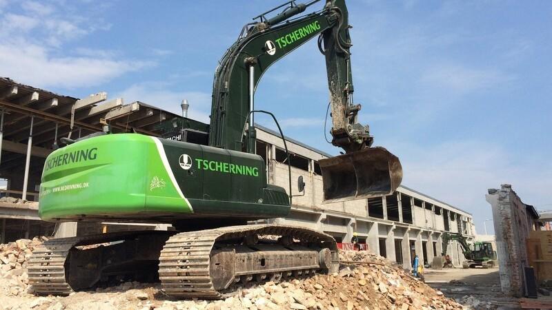 Tscherning udvider på byggeri