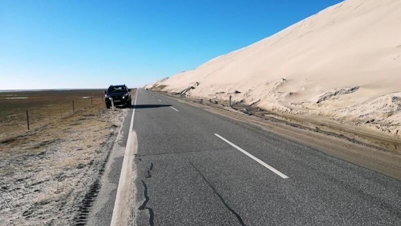 Kystdirektoratet kører sand til stranden