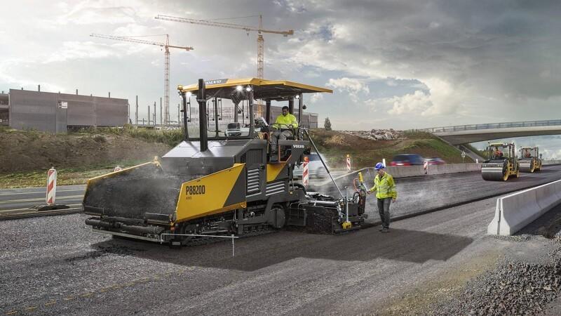 Ny maskine fra Volvo er klar til de store asfaltopgaver