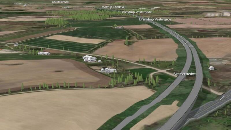 Klar til høring om første etape af Ny Midtjysk Motorvej