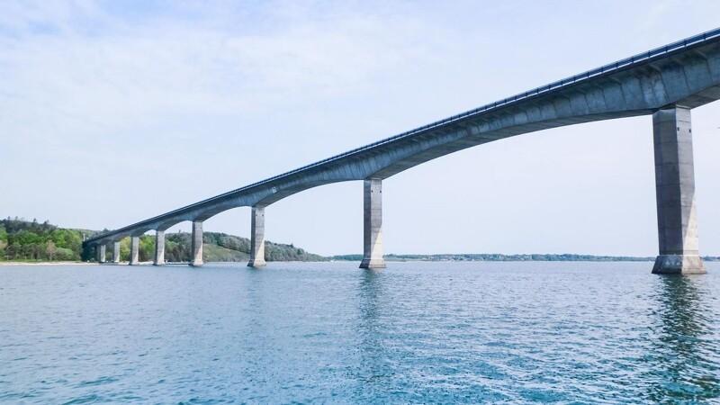 Bro renoveres frem til efteråret 2022