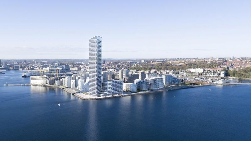 Fyrtårnsprojekt forankret 70 meter ned med tykke specialpæle