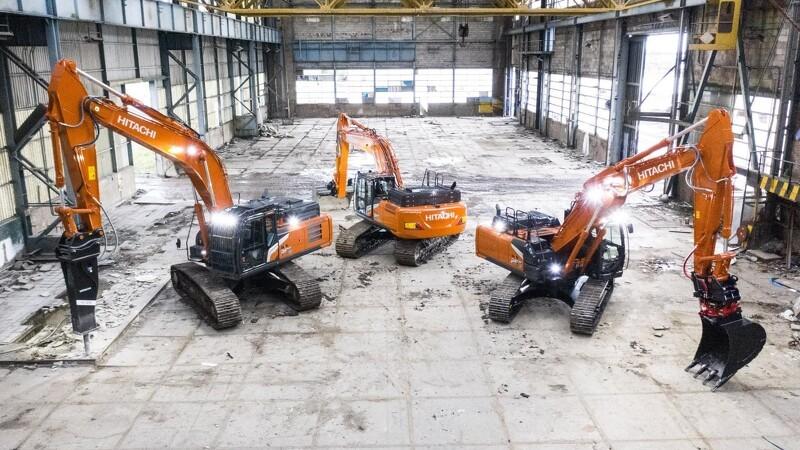 Hitachi lancerer gravemaskiner fra ny generation