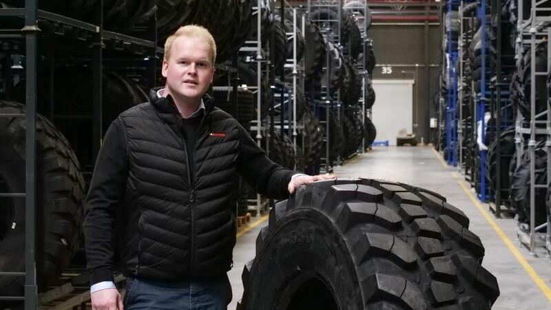 Nyt dæk skal klare alle byggepladsens underlag