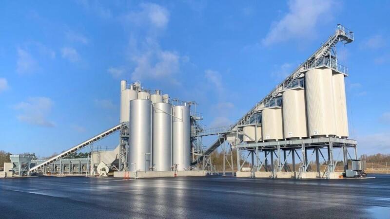 Asfaltkoncern bygger ny miljøvenlig fabrik