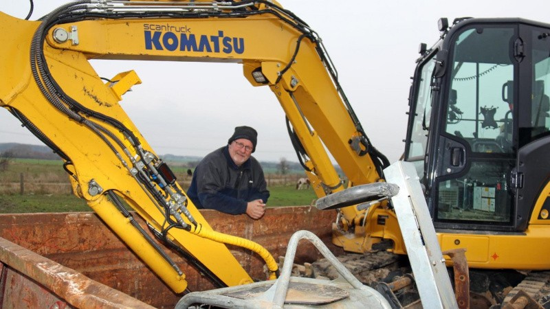 En forskel på 13 ton: Maskinerne kører ens