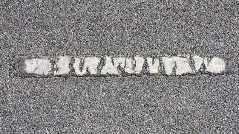 Slidte vejstriber skal spottes fra luften