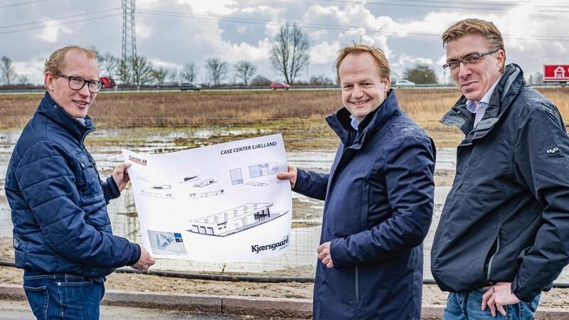 S.D. Kjærsgaard bygger Case-center i Ringsted
