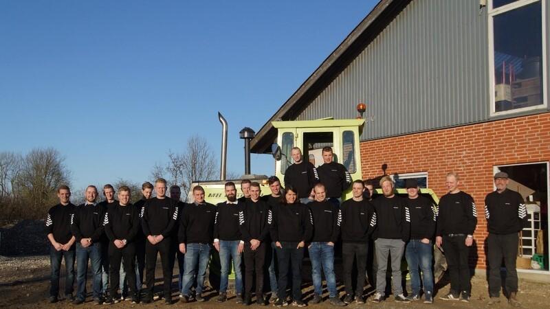 Nye jordbrugsmaskinførere fra Aarhus