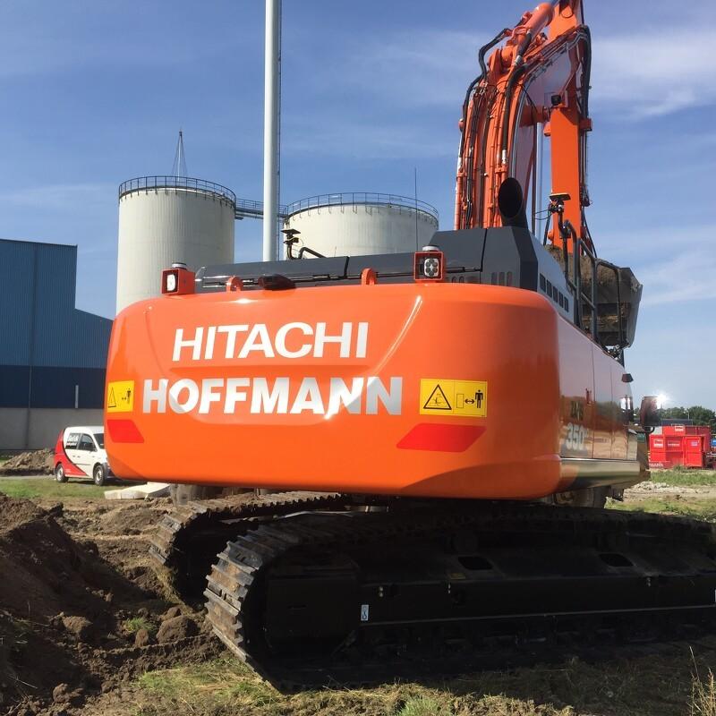 Hitachi 350LC til Hoffmann A/S