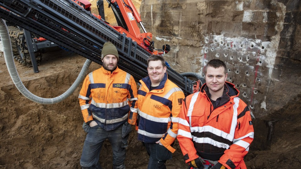 6. De tre partnere Mikkel Lerdrup, Carsten F. Jørgensen og Nicklas Lund