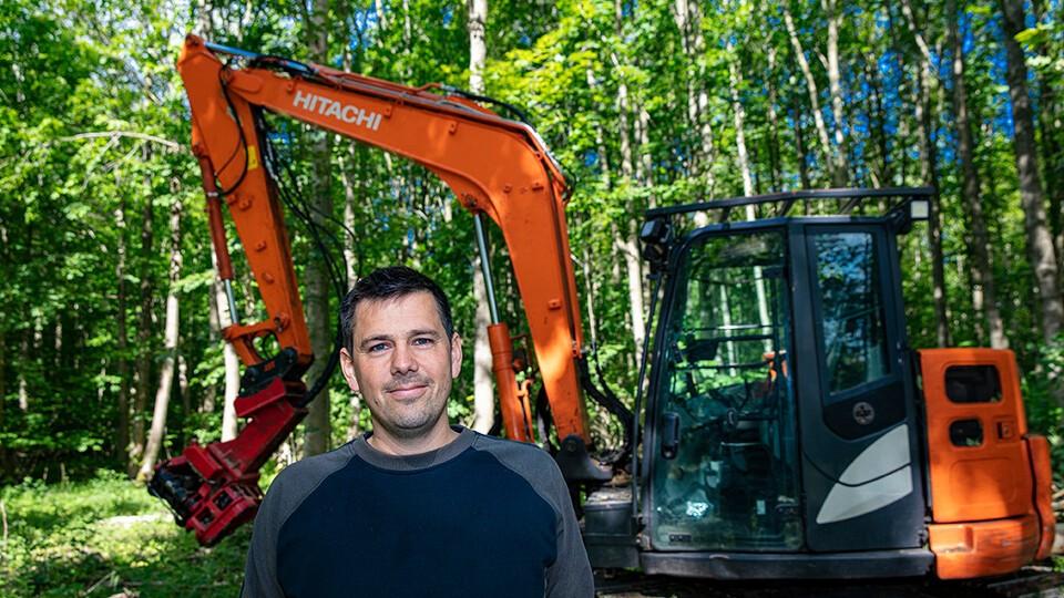 5. Indehaver Mikkel Thykjær fra MT Skovservice
